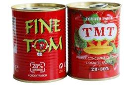 70g 210g 400g 800g 2200gの4500gによって缶詰にされるトマトのりおよびトマト・ケチャップ