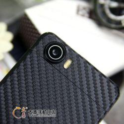 Autoadesivo della pelle della fibra del carbonio per qualsiasi modello del telefono