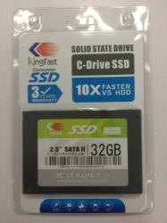 Kingfast 32GB 2.5 ' SATA II MLC Festzustands- Antrieb (KF2501MCJ06)