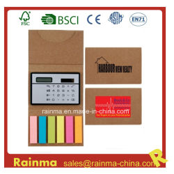 Sticky Memo Pad avec la calculatrice