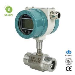 Affichage local sortie 4-20 mA connexion filetée débitmètre à turbine