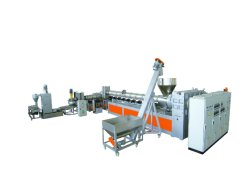 Vis unique de recyclage du plastique à couple élevé/Matériel de lavage/plastique Machine granulation