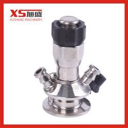Aço inoxidável SS316L Torneira de amostragem sanitárias asséptica da Válvula de amostra