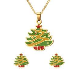 Arbre de Noël de bijoux de conception définie dans Necklace Earring pour cadeau de vacances