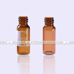 fiala di vetro ambrata di 2ml ND8 senza protezione, 12X32mm