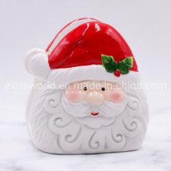 Supporto porta asciugamani in ceramica da cucina con Babbo Natale decorativo