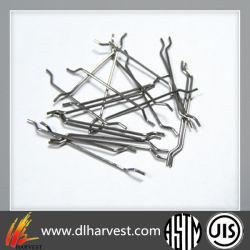 Fibra de acero estirado en frío para la construcción/reforzado con fibra de carbono