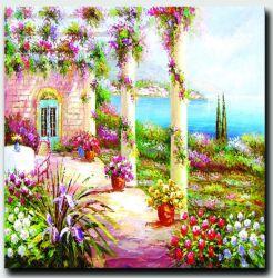 Paisaje Natural de la imagen de pared Decoracion Gran Jardín Arte paisaje pintura al óleo