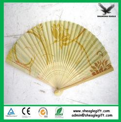 Haute qualité Prmotional papier Japon Fan de bambou