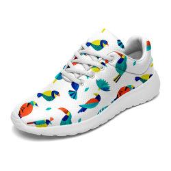 Custom легкий для ходьбы обувь для мужчин дышащий работает обувь моды яркие кроссовки