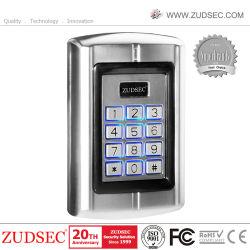 قارئ التقارب نظام التحكم في الدخول إلى بطاقة RFID لوحة المفاتيح المستقلة التحكم بالوصول