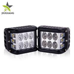 IP68 High Lumen Square 3 inch 996 Spot Beam laterale Luce da lavoro a LED per auto da 45 W e 12 V.