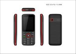 2.4inch si raddoppiano telefono mobile di SIM GSM che viene nel nuovo disegno con la batteria 1400mAh per SKD dalla fabbrica cinese
