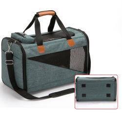 Design elegante convenientes a dobragem Tote Travel Cão Gato de Estimação Bag