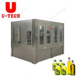Automatische het Vullen van de Olie Machine voor de Plastic Eetbare Dranken die van de Fles Makend Apparatuur bottelen
