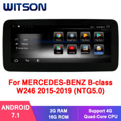 Witson Android 7.1 sistema de audio para coches Mercedes-Benz Clase B W246 NTG5.0 (2015-2019) 2g 16g Multimedia GPS