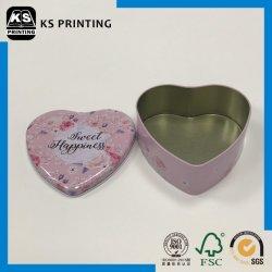 Schöne Zinnblech-Eisen-Geschenk-Süßigkeit schachtelt Fall-Zinn-Behälter mit Kappe
