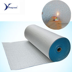 Espuma de borracha de isolamento de folha de alumínio espuma EPE