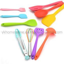 Hitzebeständiges Non-Stick Küche-Gerät-gesetzter Silikon-KücheCookware