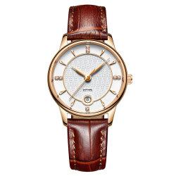 2020新しいデザイン工場は直接カスタム3ATM防水方法手首の水晶腕時計を供給する