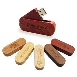 사용자 지정 로고 Wood Pen Drive 4GB 8GB 16GB 32GB 64GB 사진 맞춤형 USB 2.0 플래시 드라이브 메모리 디스크 (10PCS 무료 로고 이상)