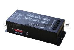 LED Spiピクセルアドレス指定可能で軽いSpi DMXのデコーダーのコントローラRGB LED Lighttsの結婚式の装飾LEDの照明コントローラ