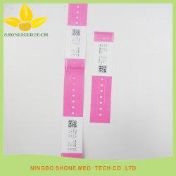 ID do Hospital pulseiras térmico macio banda de Transferência de pacientes
