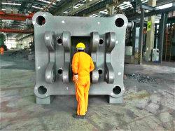 L'usine rend la partie mécanique de moulage en acier de précision /Ht fonte de sable de moulage fonte ductile /Qt/coulage en sable en alliage aluminium