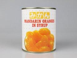 425 g/может оптовых плодоовощных консервов Мандарин оранжевого цвета в сиропе