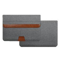 La luz de alta calidad y fino cuero funda para portátiles bolsa de nylon para MacBook Pro 13 bolsa de ordenador portátil con la función de soporte