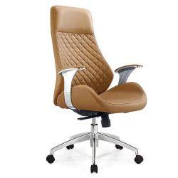 Foshan Silla de oficina de cuero de fábrica con respaldo alto silla ejecutiva de oficina