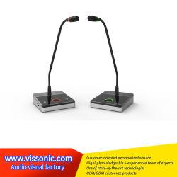 Indicador LED Two-Color Classic-D de nivel básico económico de la Conferencia Conferencia de Audio Micrófono