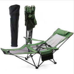 Chaise de Camping en Plein Air Transat Lit pliant