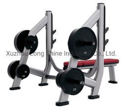 2019 Hot Sale les appareils de sport ls-L08 Banc olympique de stockage de poids
