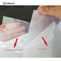 非シートを薄板にする材料を作るPVCカード
