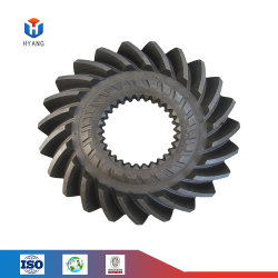 CNC機械螺線形の斜角カスタム斜めギヤ