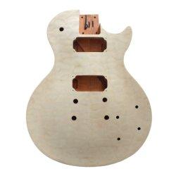 Flamme Spaled matelassée Maple haut de la guitare Les Paul corps