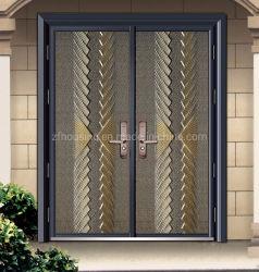 Alumínio fundido porta explosão da Porta de segurança para casa de família Zf-Ds-050