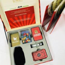 カスタムハイエンド品質ペーパー物質的なボードゲーム