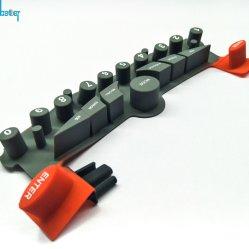 Toetsenbord van het Silicone van de douane het Geleidende Elektronische Rubber/Keypad/Button/Keycap