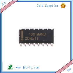 CD4511bm 세그먼트 래치Bcd 에 7 또는 암호해독기 또는 Driver