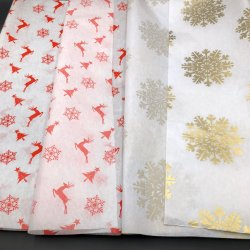 17gsm Mf/Mg White Wrapping Tissue Paper Gift Packing Paper