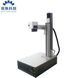 Macchina portatile della marcatura del laser della fibra di colore, colore della marcatura su acciaio inossidabile, macchina della marcatura del laser di Mopa