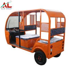 AlYd001の強力で低い維持標準的なデザイン乗客のための電池式の電気三輪車の人力車