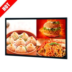 Suporte de Parede 32 43 55 polegadas LCD Ecrã táctil Digital Signage da Exibição de publicidade com o Android ou Windows