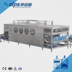 Het automatische Systeem van de Verwerking van de Bottelarij van het Vat van de Machine van de Lijn van het Drinkwater van 5 Gallon Zuivere Vullende voor 12L/15L/20L