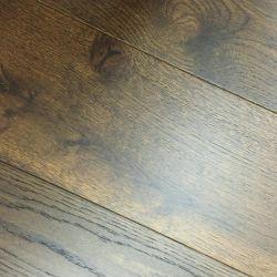 Ingeniería de suelos de madera de roble listos para enviar