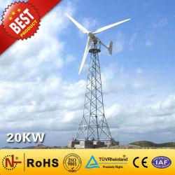 sistema di generatore di energia eolica della turbina di vento 20kw/per il piccolo laminatoio di vento commerciale della casa di potere della turbina di vento di uso (20KW)