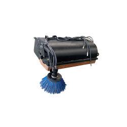 Usine dernière roue hydraulique de chargeur Skid Steer balai orientable