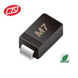 Выпрямитель SMD общего назначения M7 SMA (DO-214AC) 1A 1000V 1N4007